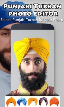 Punjabi Turban Photo Editor apk screenshot