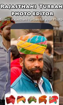 Rajasthani Turban Photo Editor screenshot 1