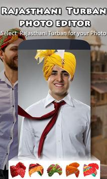 Rajasthani Turban Photo Editor screenshot 2