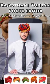 Rajasthani Turban Photo Editor screenshot 3