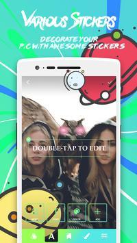 V Camera - Photo editor, Stickers, Collage Maker screenshot 1