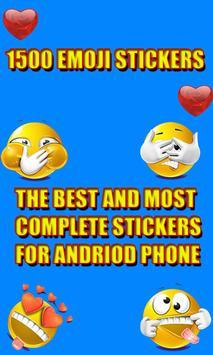 Smiley & Emoji's Stickers poster