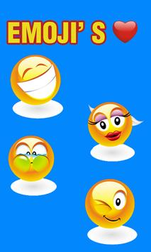 Smiley & Emoji's Stickers apk screenshot
