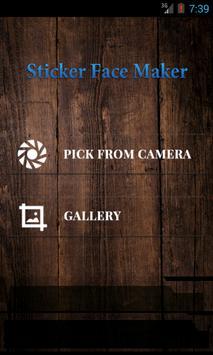 Sticker Face Maker poster