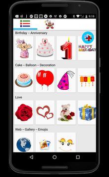 Happy Birthday Stickers - Anniversary Stickers poster
