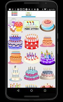 Happy Birthday Stickers - Anniversary Stickers screenshot 6