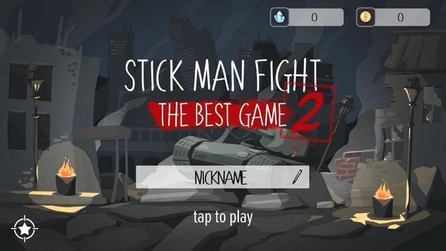 Stick Man Fight 2 постер