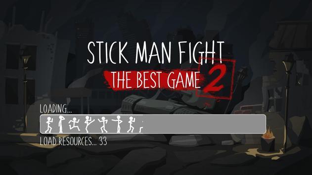 Stick Man Fight 2 скриншот 2