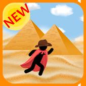 Stickman - Adventures In Egypt icon