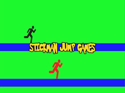 Stick-man Jump Games. apk screenshot