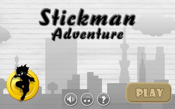 Rush Stickman Adventure poster