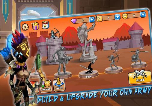 Stickman Archer – League of Warriors: Archery RPG screenshot 1