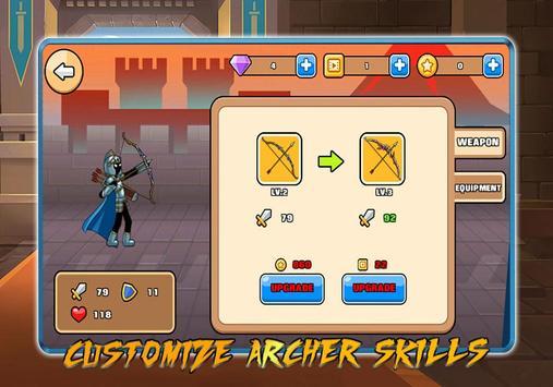 Stickman Archer – League of Warriors: Archery RPG screenshot 2