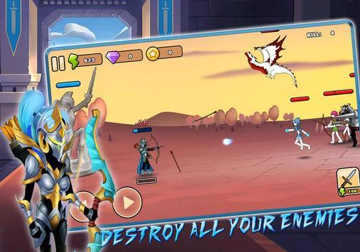 Stickman Archer – League of Warriors: Archery RPG screenshot 4