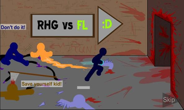 Stick Revenge - Fighting Game screenshot 1
