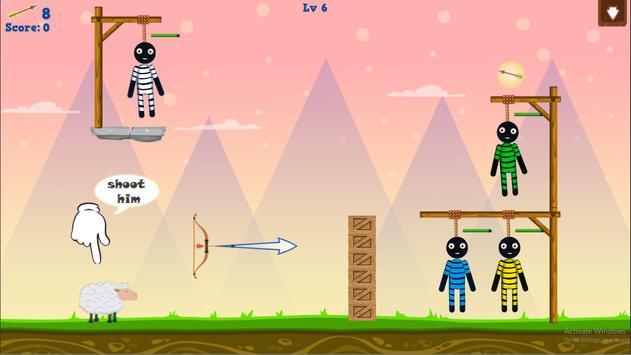 Stickman Warrior Gibbets! screenshot 8