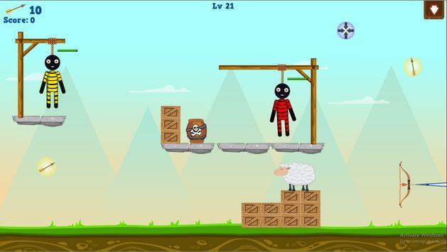 Stickman Warrior Gibbets! screenshot 10
