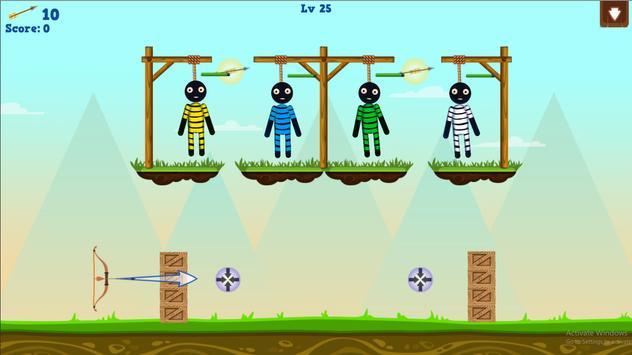 Stickman Warrior Gibbets! screenshot 11