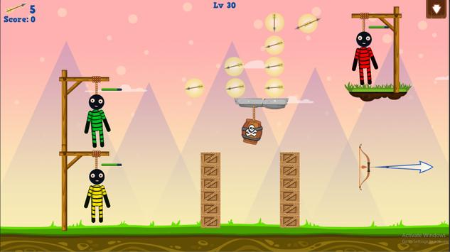 Stickman Warrior Gibbets! screenshot 12