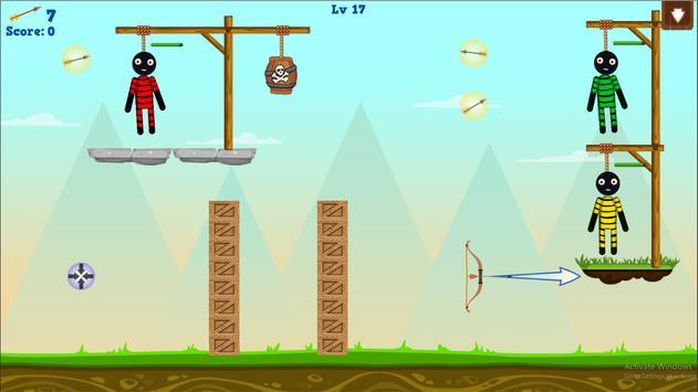 Stickman Warrior Gibbets! screenshot 16