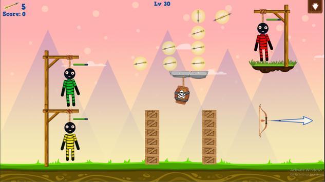 Stickman Warrior Gibbets! screenshot 19