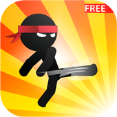 Stickman Ninja The Master icon