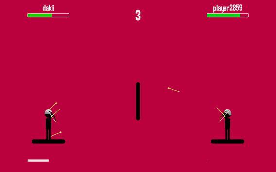 Stickman Archer 4 Fight Archer 4 screenshot 1