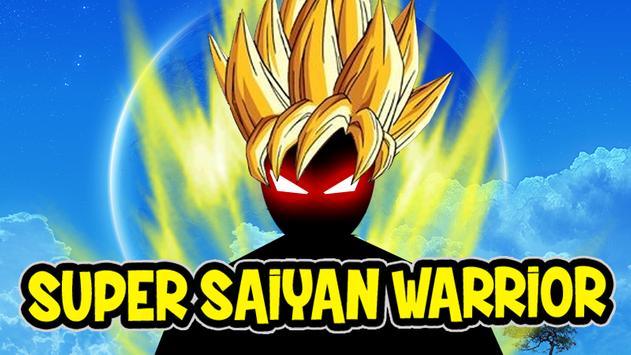 Super Saiyan Stickman Warrior poster