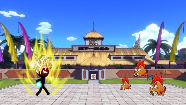 Super Saiyan Stickman Warrior screenshot 1