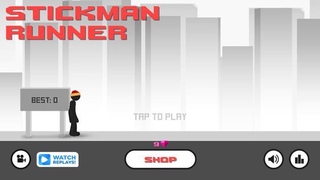 Stickman - Parkour Runner 2 screenshot 4