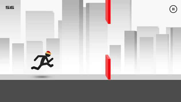 Stickman - Parkour Runner 2 poster