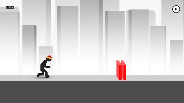 Stickman - Parkour Runner 2 screenshot 1