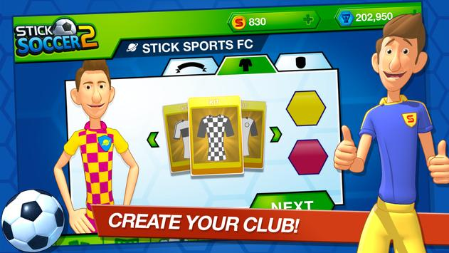 Stick Soccer 2 screenshot 4