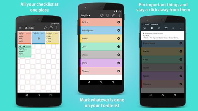 Sticky Notes - Note, Checklist and Diary + Widgets screenshot 5