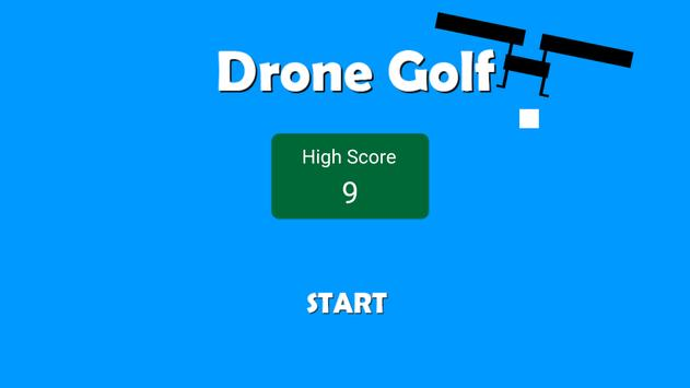 Drone Golf poster