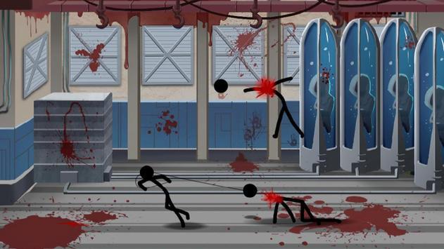 Stickman Game-Crazy Laboratory poster