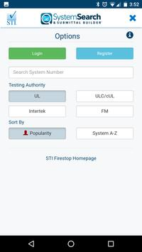 STI System Search screenshot 1