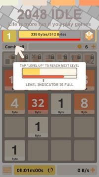 2048 IDLE: More than Clicker poster