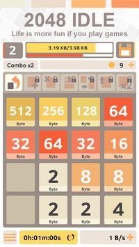 2048 IDLE: More than Clicker apk screenshot