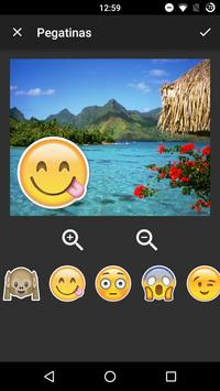 Stickers for pictures screenshot 2