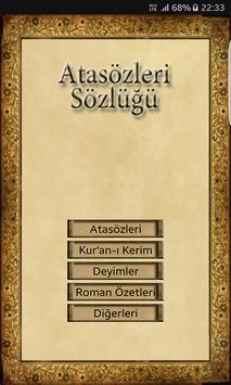 Yeni Atasözleri Sözlüğü apk screenshot