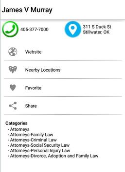Stillwater Telephone Directory apk screenshot