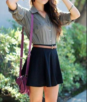 Fille   Teen Outfit Style Ideas Poche screenshot 1