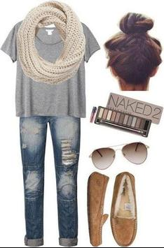 Fille   Teen Outfit Style Ideas Poche screenshot 4