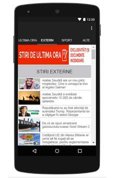 Stiri De Ultima Ora apk screenshot