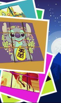 Slide Puzzle For : Stitch! apk screenshot