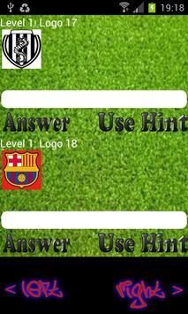 Football Logo Quiz Free apk screenshot