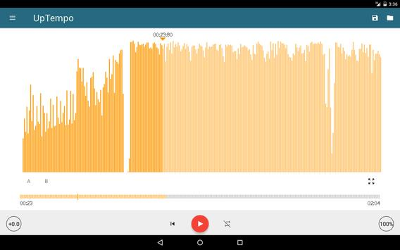 Up Tempo Pitch and Speed Changer apk screenshot