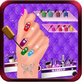 Shiny Nail Art Design Salon: Girl Manicure Parlour icon
