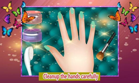 Shiny Nail Art Design Salon: Girl Manicure Parlour screenshot 3